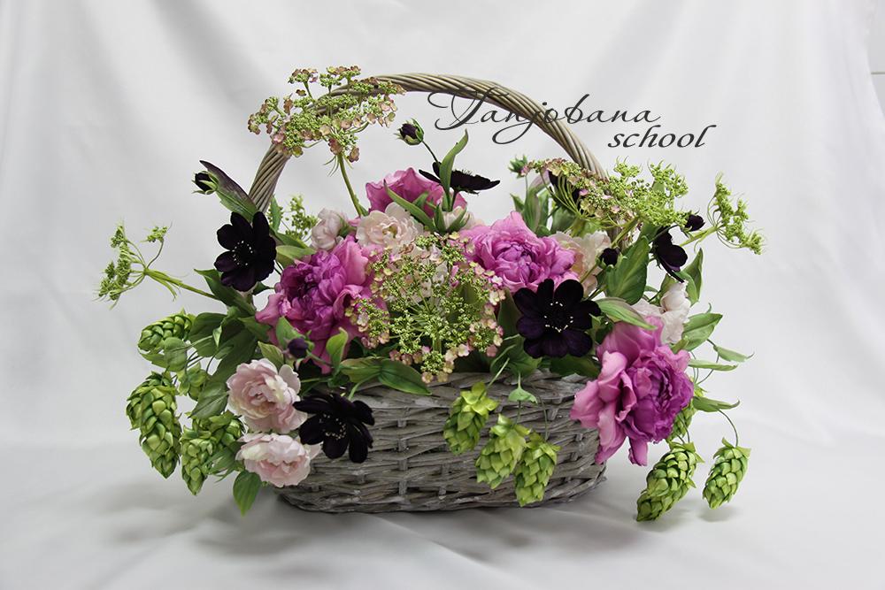 Воплощение живых цветов в шелке картинка