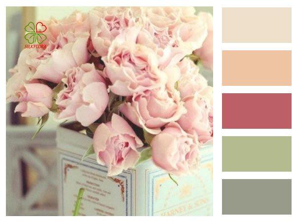Роза винтажная – цвет нежности