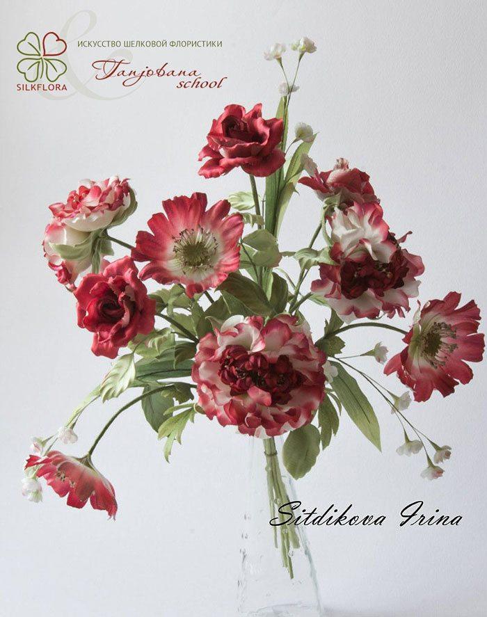 Irina-Sitdikova-silk-flowers-buket-1