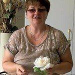 Мастер класс, цветы из ткани, роза из ткани, Надежда Череда, SilkFlora, видео-урок