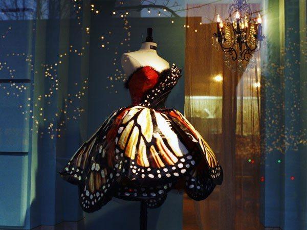 Платье-бабочка