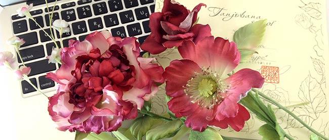 Базовый курс японской шелковой флористики Tanjobana
