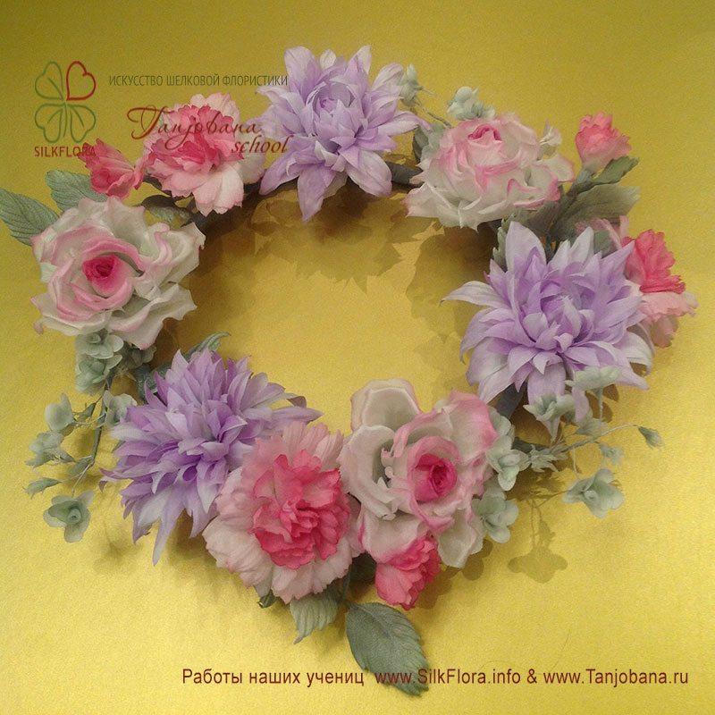 Букет «Розовая весна» Елены Солнцевой