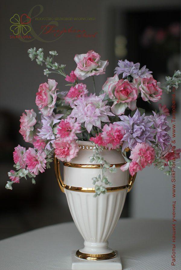 Букет «Розовая весна» Ирины Сотниковой