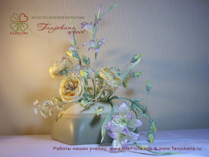 Букет «Желтое лето» Yelena Parassyuta