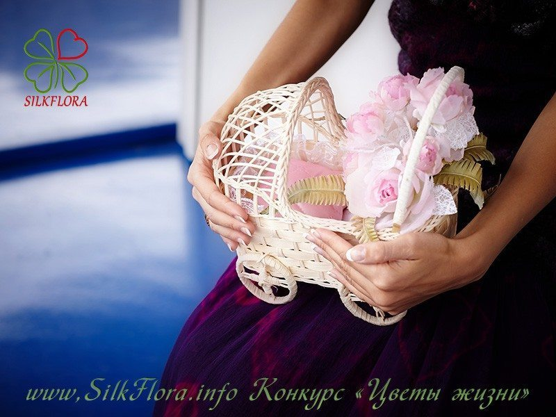 silk flowers - цветы из ткани