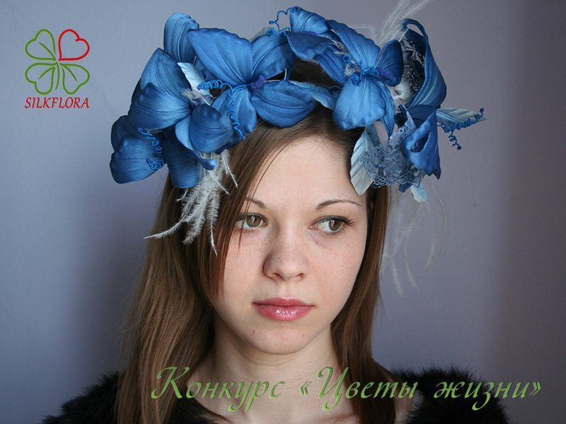 Ирина Трошина Обруч «Небесный фейерверк»