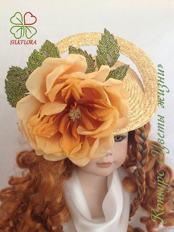 54 Ирина Яблокова. Шляпка «Царица пустыни»