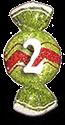 konfetka 2 приз от школы шелковой флористики SilkFlora