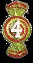 konfetka4 приз от школы шелковой флористики SilkFlora