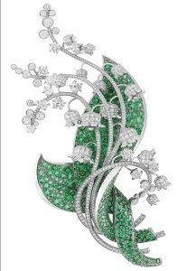 ландыш -украшение из серебра