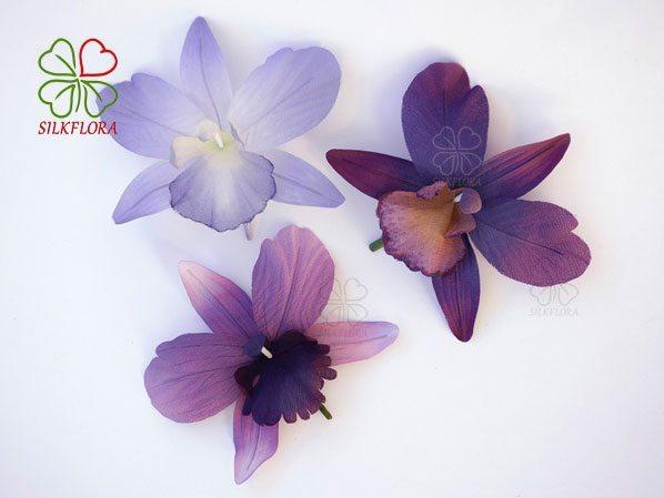 Орхидея работа Надежды Деминой