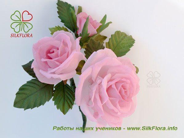 Роза работа Надежды Деминой