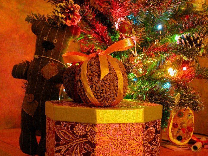 Ароматный рождественский подарок