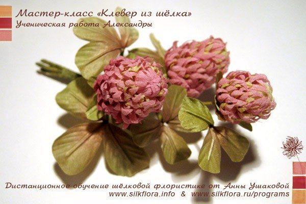 Новости по «Базовому курсу шелковой флористики»