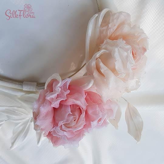Мастер-класс староанглийская роза из шелка - Анджи