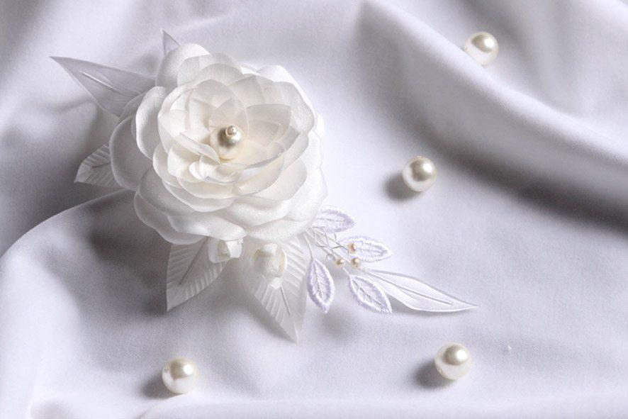 Конкурс шелковых цветов SilkFlora 2011. «Камелия жемчужная»