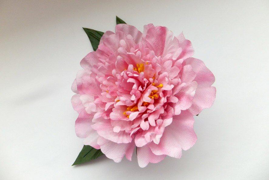 Конкурс шелковых цветов SilkFlora 2011. «Розовая мечта» — пион из шёлка