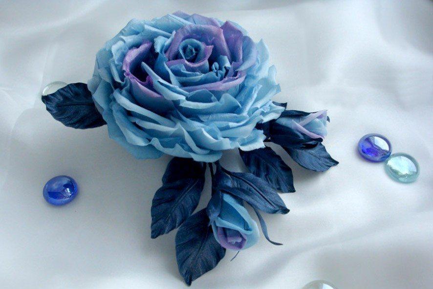 Конкурс шелковых цветов SilkFlora 2011. «Роза – Снежная королева»