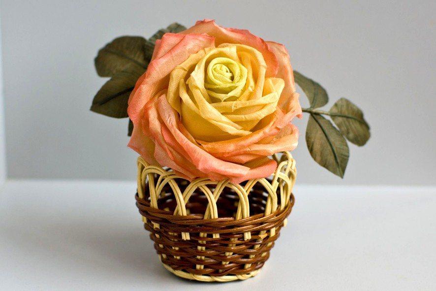 Конкурс шелковых цветов SilkFlora 2011. «Николетта» — шелковая роза с секретом