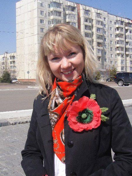 Ученица Silkflora.info - Елена Городецкая