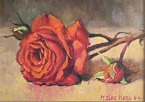 Роза винтаж